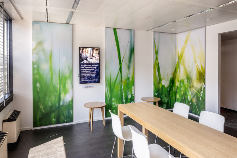 Kundenlösung A1 Telekom Austria Schallabsorber Büro
