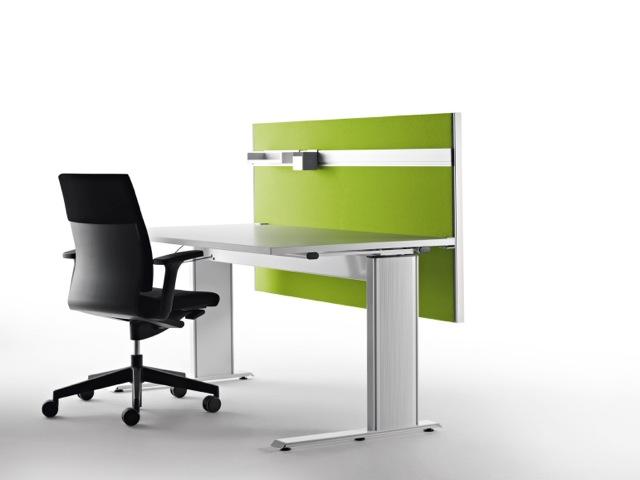 Decato Modul System Schallschutz am Schreibtisch