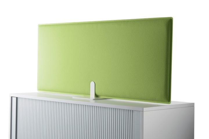 Decampo Schreibtisch Trennwand für Sichtschutz Büro