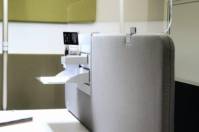 Die neue Rundwand Decampo Curve für optimale Akustik im Büro