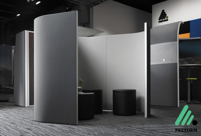 Bildergalerie Acoustics in motion Decato Modul Corner