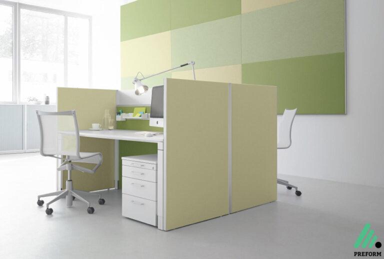 Bildergalerie mit Decato ModulScene Wandabsorber als Akustiklösung für Ihr Büro