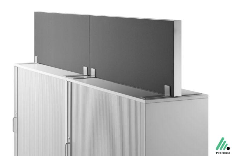 Bildergalerie mit Decato DP50 Schrankaufsatz als Akustiklösung für Ihr Büro