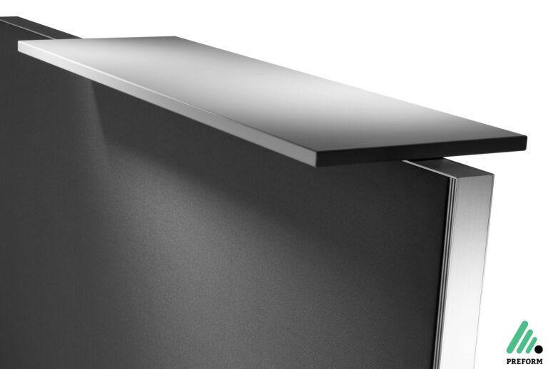 Bildergalerie mit Decato DP50 Tischaufsatzwand als Akustiklösung für Ihr Büro