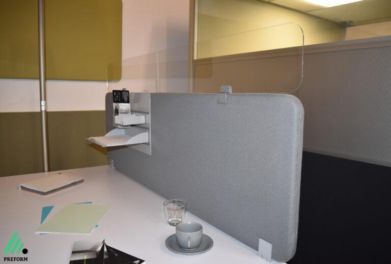 Bildergalerie mit Decampo Curve, die akustische Rundwand für Ihr Büro