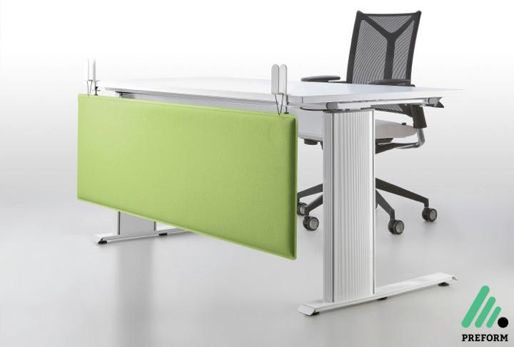 Bildergalerie mit Decampo Tischaufsatzwand Knieblende in grün