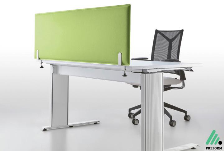 Bildergalerie mit Decampo Tischaufsatzwand in grün