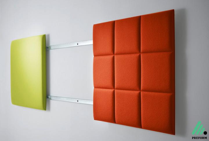 Bildergalerie mit Decampo Wandpanel mit Magnetleiste