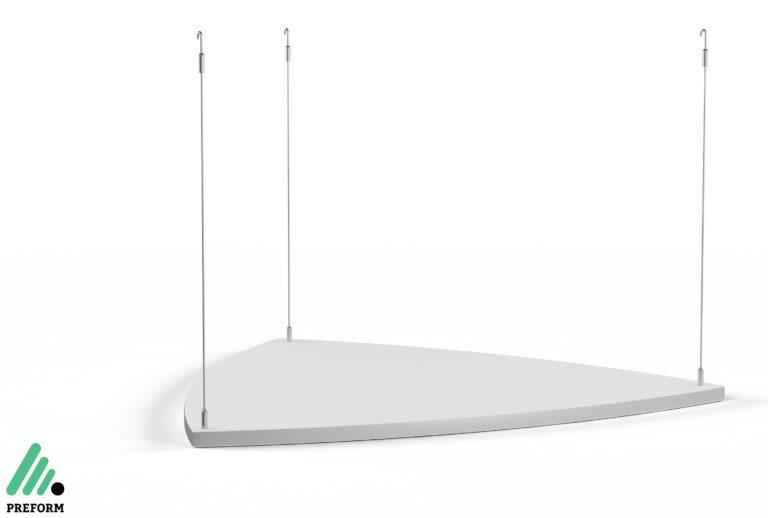 Bildergalerie CGI Akustiklösung Decato Modul Scene Triangel für Ihr Büro