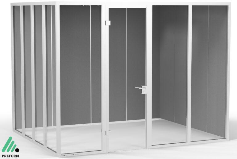 Bildergalerie CGI Akustiklösung Decato DP50 für Ihr Büro