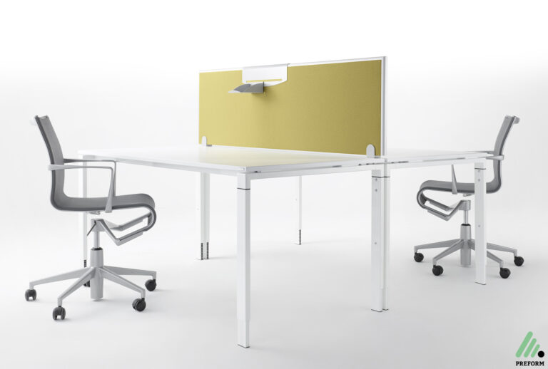 Bildergalerie mit Formfac4 Tischaufsatzwand als Akustiklösung für Ihr Büro