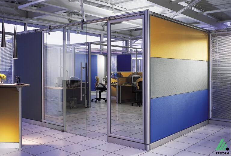 Bildergalerie mit Decato Struktur als Akustiklösung für Ihr Büro