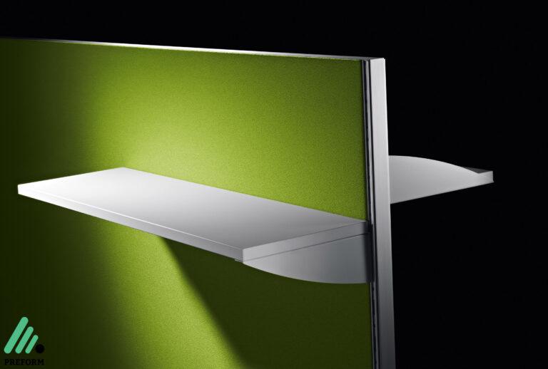 Bildergalerie mit Decato Modul Tischaufsatz als Akustiklösung für Ihr Büro