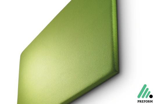 Bildergalerie mit Decampo Wandpaneele in grün