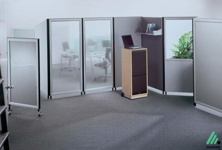 Bildergalerie mit Formfac4 Stellwand als Akustiklösung für Ihr Büro