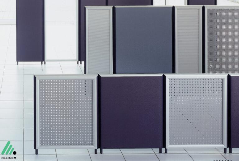 Bildergalerie mit Formfac5 Stellwand als Akustiklösung für Ihr Büro