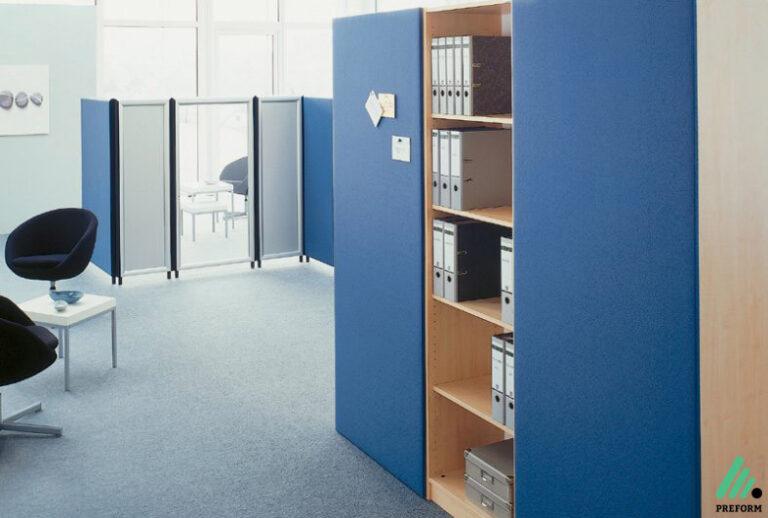 Bildergalerie mit Wandpaneel als Akustiklösung für Ihr Büro