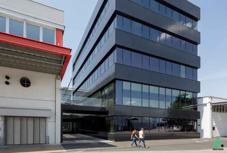 Referenz Volksbank - Akustiklösungen für Ihr Büro mit Stellwänden von Preform