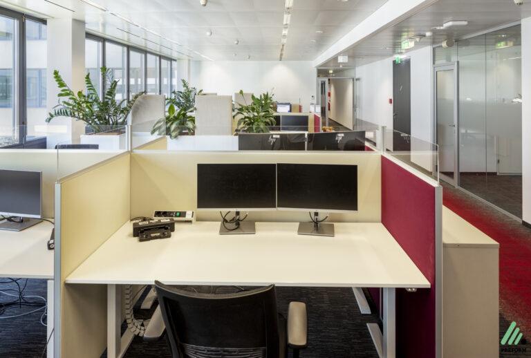Referenz A1 Austria - Akustiklösungen für Ihr Büro mit Stellwänden von Preform