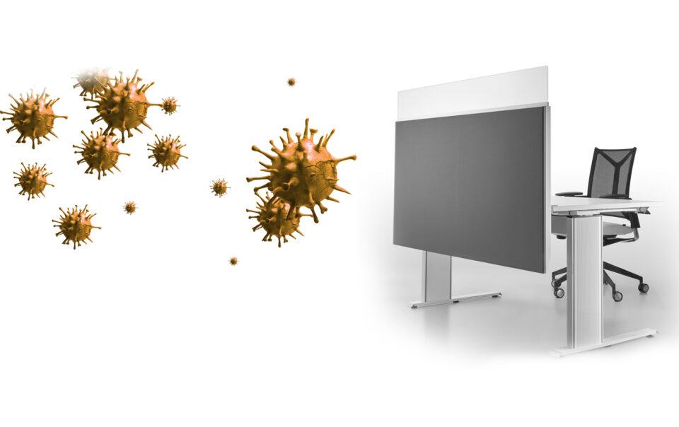 Infektionsschutz im Büro - Coronavirus-Arbeitsschutzstandards
