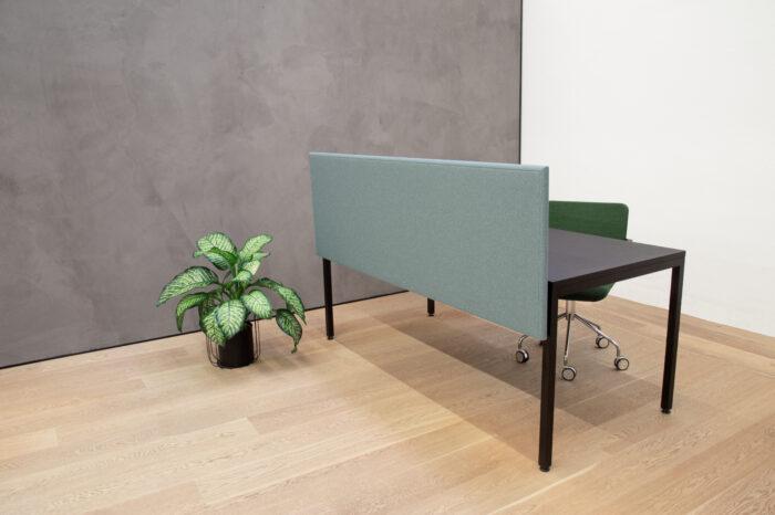 Schreibtisch Trennwand für Schallschutz Büro