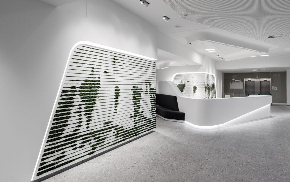 Neue Arbeitswelten mit akustischen Lösungen durch sbp Seel Bobsin Partner Design-Konzeptionen