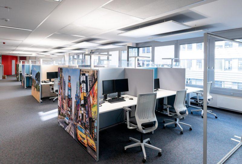 Stellwände von PREFORM als Akustiklösung für Ihr Büro