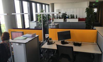 Kundenlösung ADAC Schallabsorber Büro