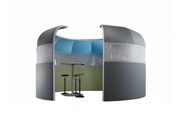 Acoustics in Motion Raum in Raum Absorber