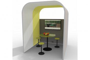 Prespace Bridge Besprechungsraum und Meetingraum für Schallschutz Büro