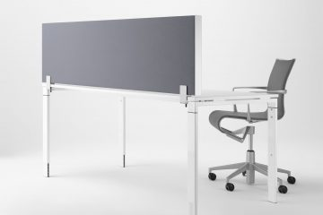 Decato dp50 Schreibtisch Trennwand - Absorber