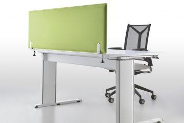 Decampo Absorber Light Schreibtisch Trennwand - Schallschutz Schreibtisch
