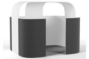 Decato Discreto Kommunikationsbereich und Besprechungsraum als Raum in Raum Lösung
