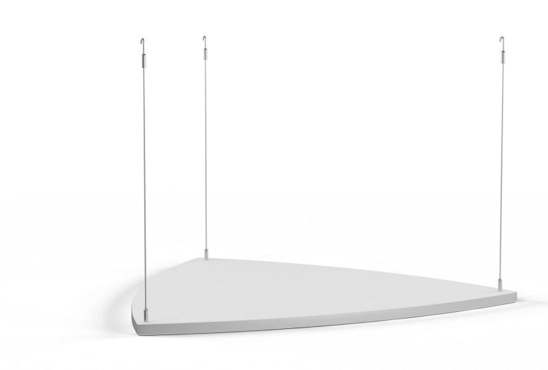 Decato Modul Scene Triangel Deckenabsorber für einen guten Schallschutz