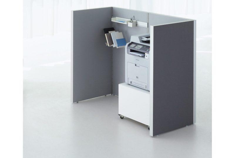Decato dp50 Koje als Druckernische und Raum in Raum System