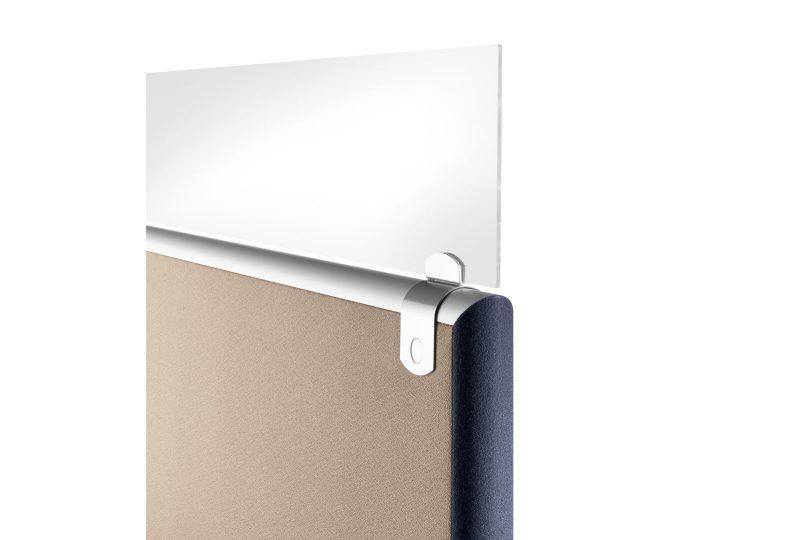 Formfac5 Sichtblende für einen guten Schallschutz am Schreibtisch