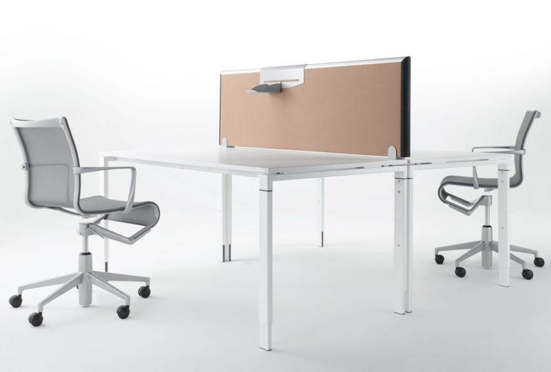Formfac5 Tischaufsatz als Schallschutz Schreibtisch und Schallabsorber