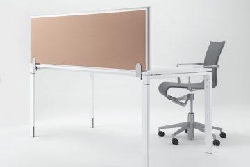 Formfac5 Tischaufsatz Absorber - Schreibtisch Trennwand - Schallschutz Schreibtisch