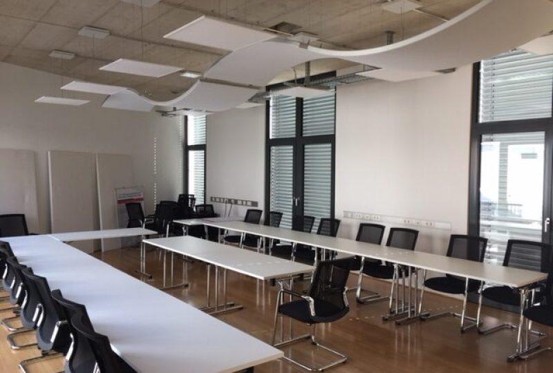Akustiklösungen für produktive Konferenzräume