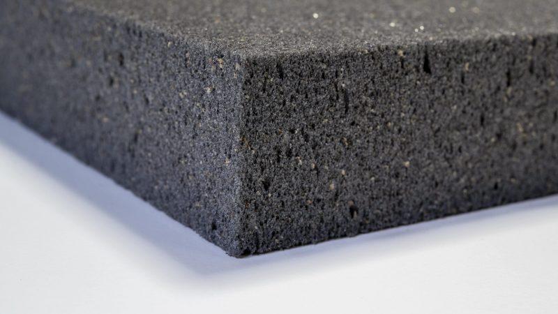 Absorptionsmaterial Gipsschaum für Schallabsorber für Wand und Decke, für Schallschutz im Büro und Raumakustik verbessern