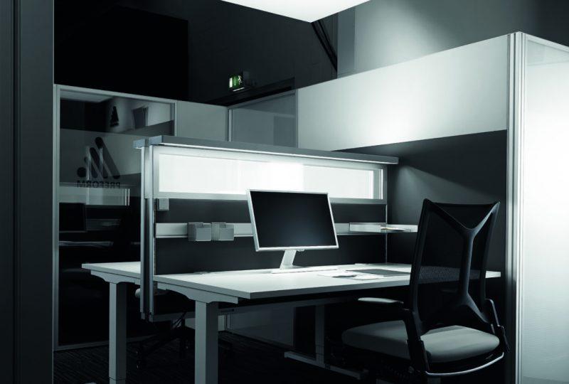 Integrierte Arbeitsplatzbeleuchtung - Beleuchtung Büro