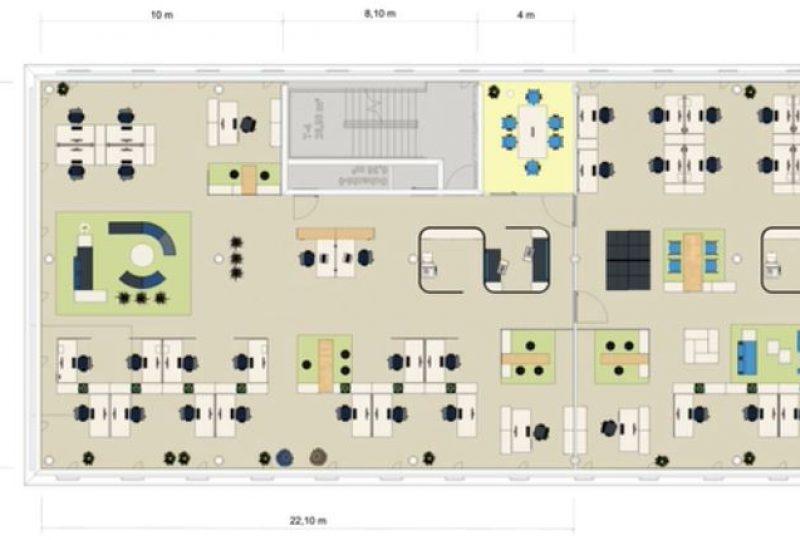 Planung Moderne Bürokonzepte und Arbeitsplatzgestaltung im Büro