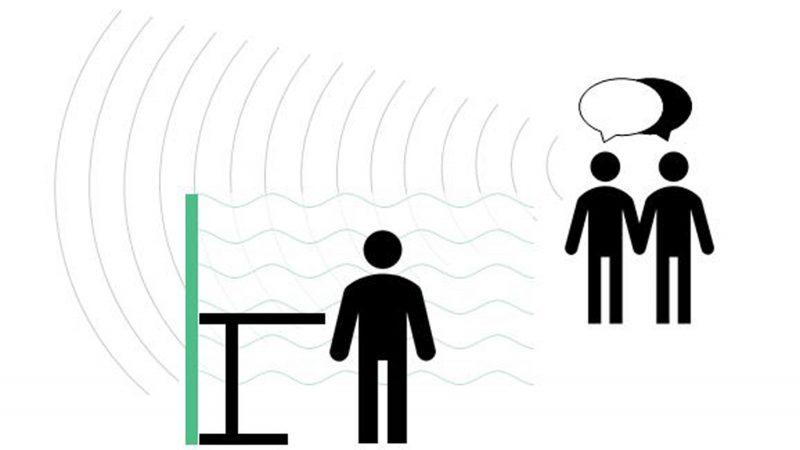 Raumakustik verbessern mit Sound Masking durch Presound für Schallschutz im Büro