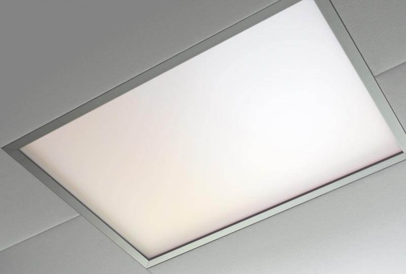 Deckenelement aus Glas von Meetingraum Prespace Tube