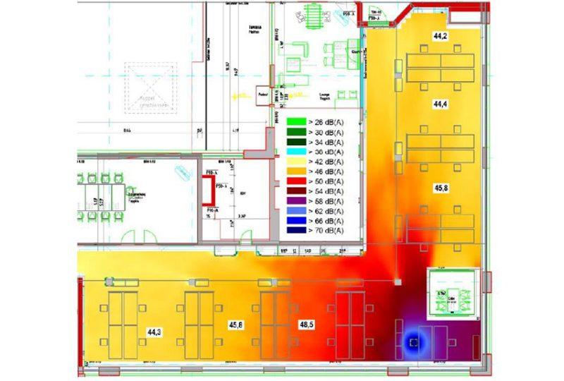 Schalldämmung und Schallschutz im Büro durch akustik absorber