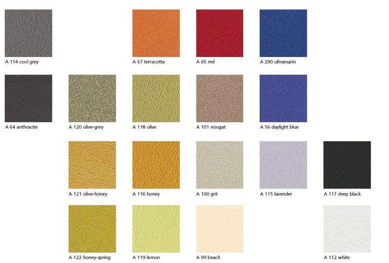 Individuelle Stoffe und Farben