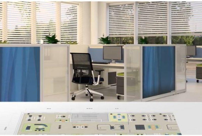 Umsetzung moderne Bürokonzepte und Arbeitsplatzgestaltung im Büro