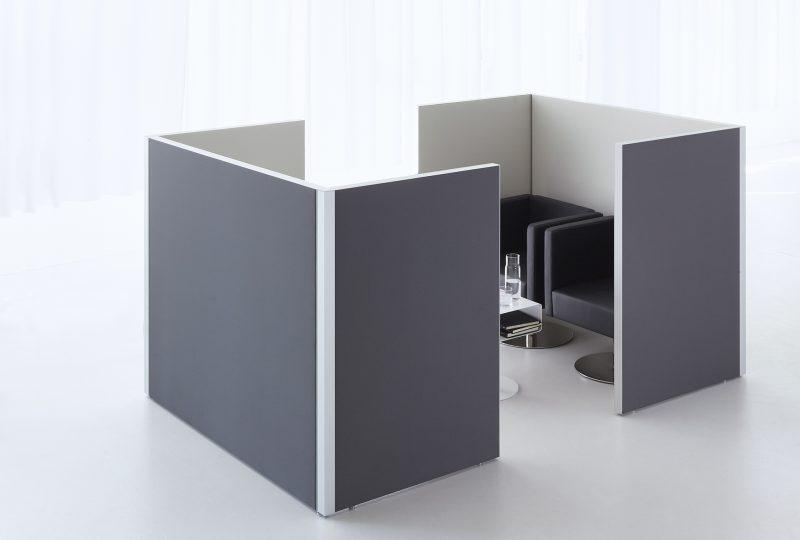 Decato dp50 Doppekoje als Besprechungsecke und Raum in Raum System
