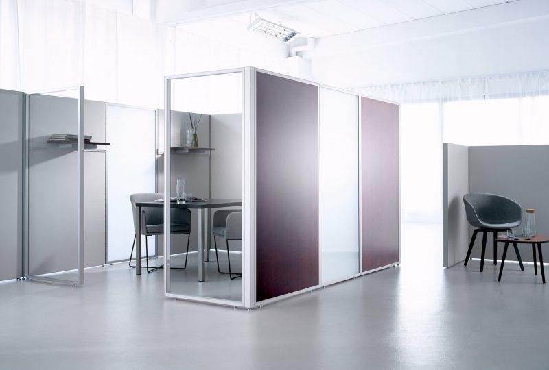 Akustiklösungen für Ihr Büro mit Stellwänden Decato DP50 von Preform